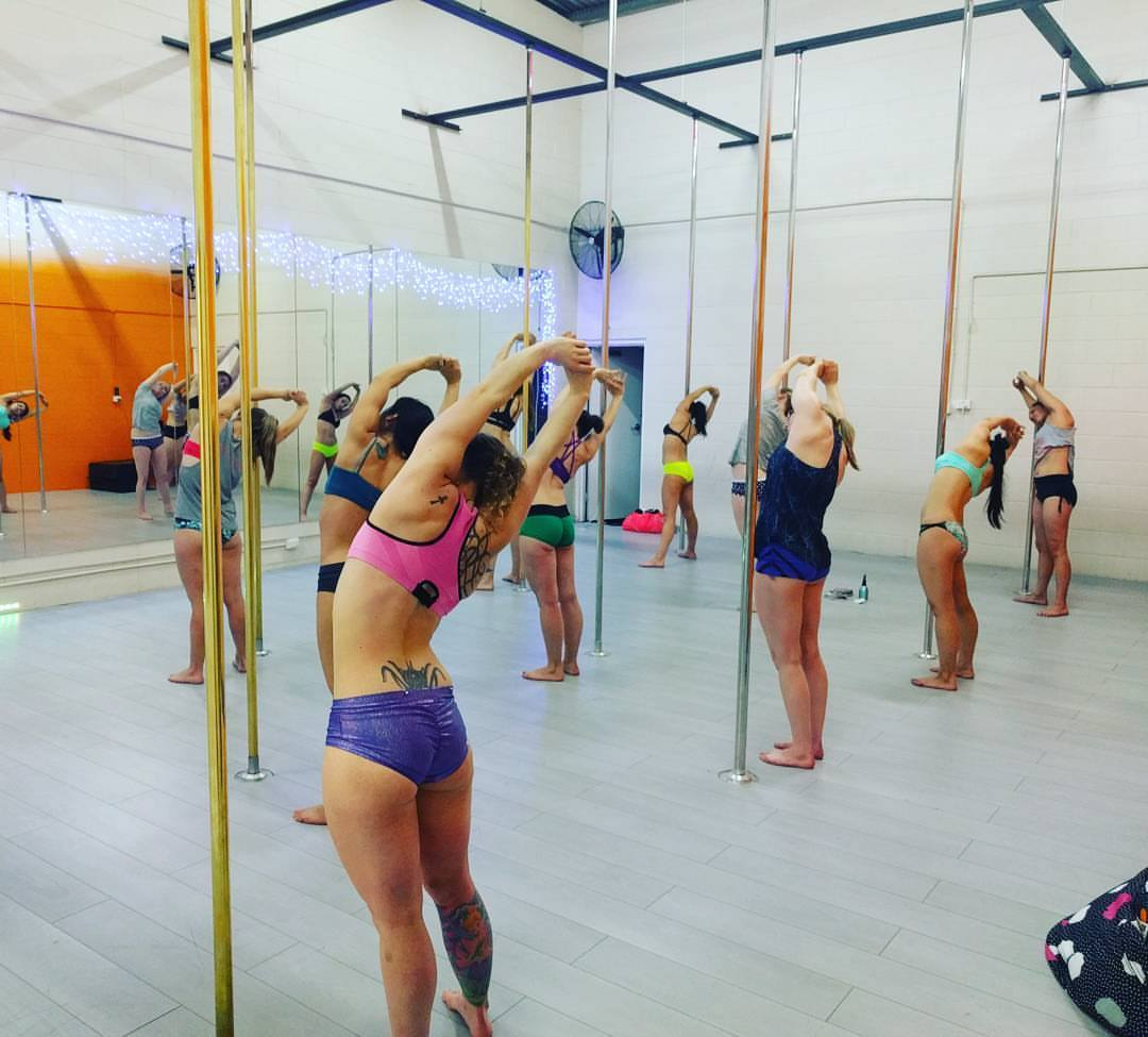 pole dance 8 week block classes all levels