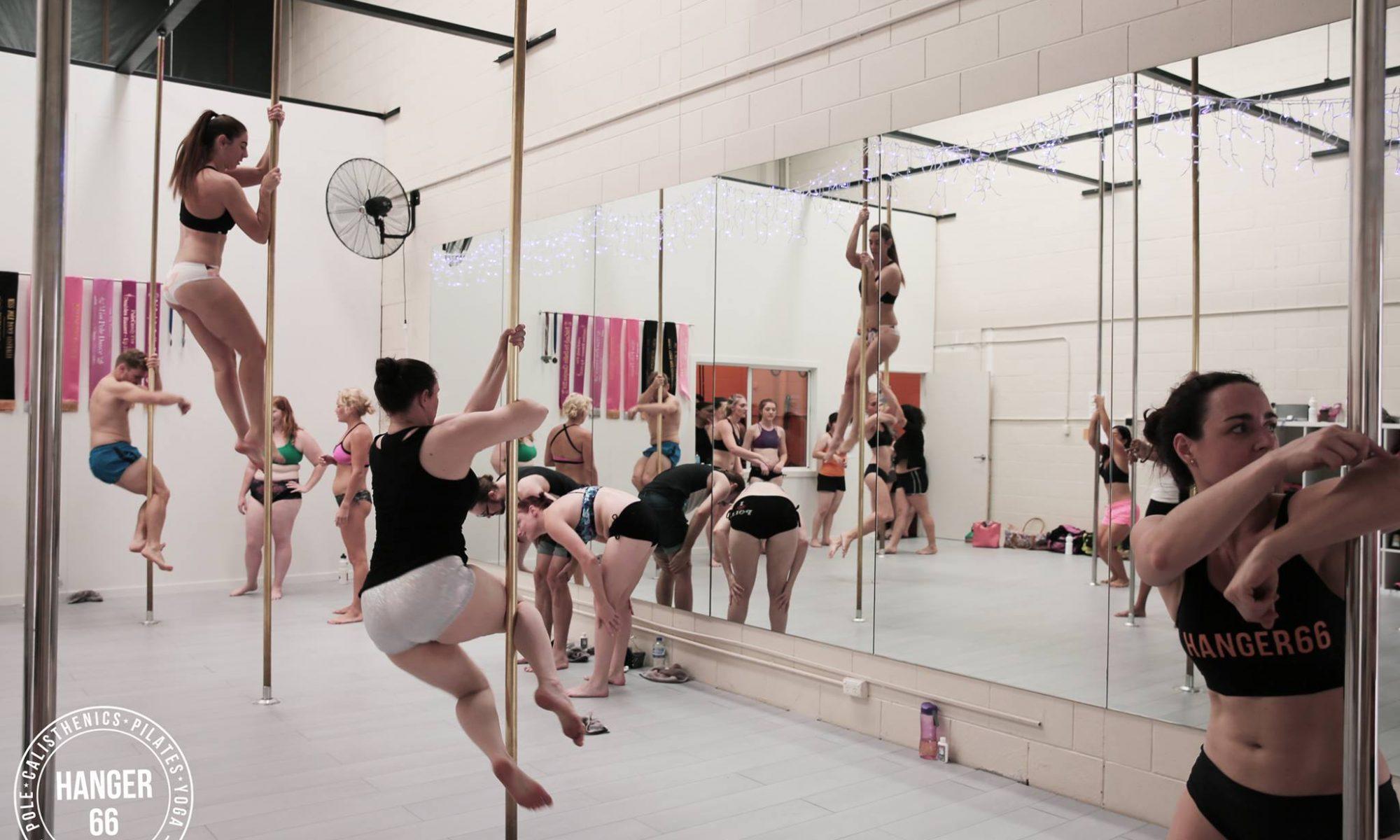 pole dance casual classes